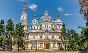 Almaty Cathedral Kazakhstan