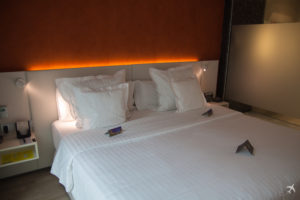 Barcelo Hotel Hamburg Bett