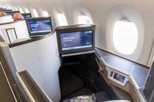 British Airways Club Suite Cabin Window