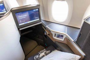 British Airways Club Suite Monitor