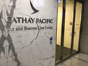 Cathay Pacific Entrance