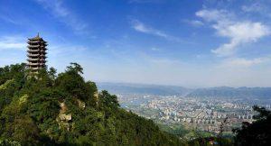 Chongqing und Jinyun Mountain