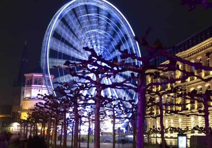 Duesseldorf ferris wheel