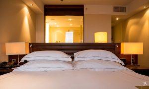 Jumeirah Hotel Frankfurt Bett