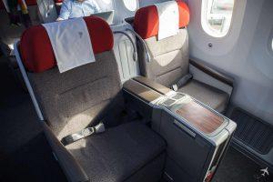 LATAM Boeing 787 Business Class Sitze