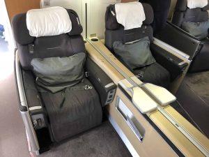 Lufthansa First Class Doubleseats