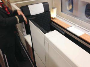 Swiss 777 First Class
