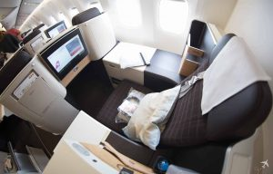 Swiss Boeing 777 Business Class Privacy Seat 3