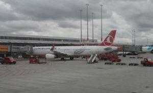 Turkish Airlines am Gate