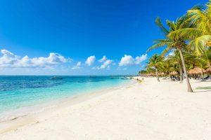 Akuma Beach in der Nähe von Cancún, Mexiko