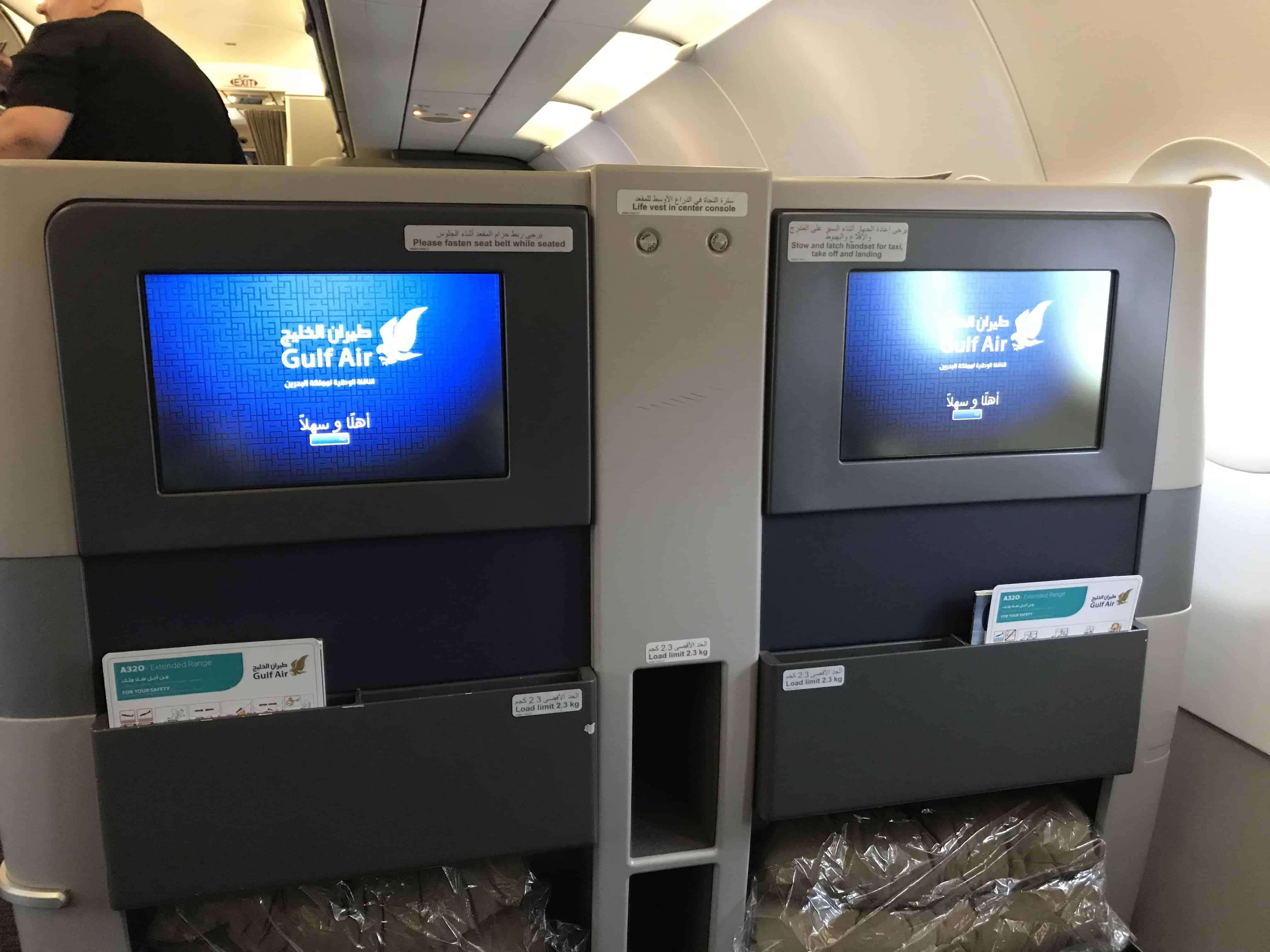 Gulf Air Bewertung - Sitz