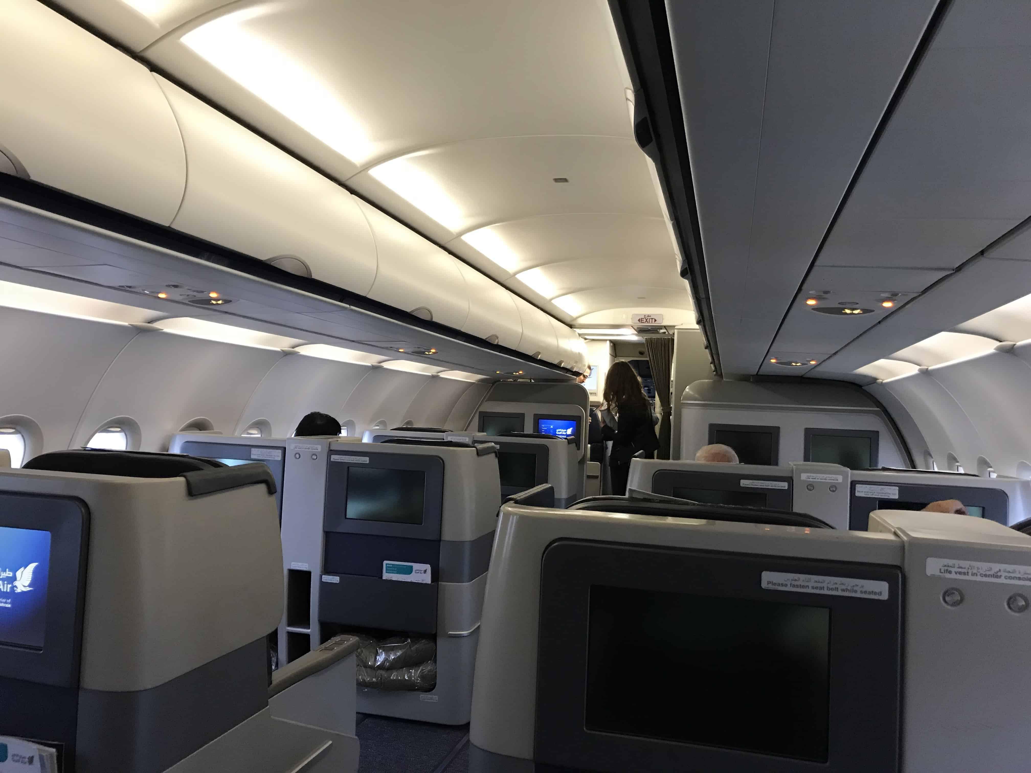 Gulf Air Bewertung - Kabine