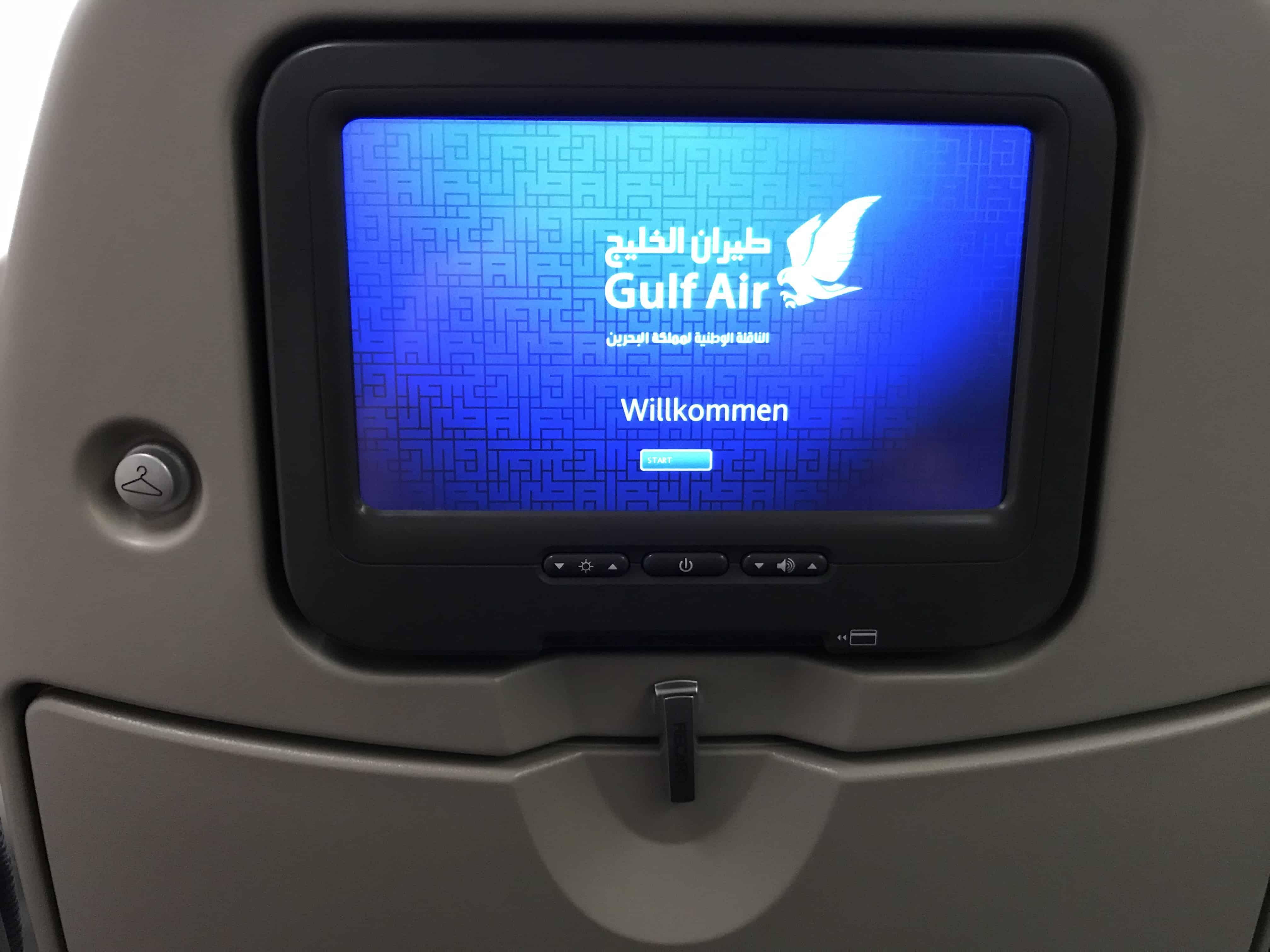Gulf Air Economy Class