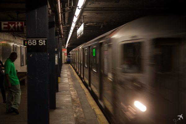 Mit der Subway kommt man schnell durch New York