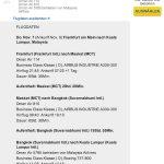 ErrorFare Frankfurt - Kuala Lumpur mit Oman Air