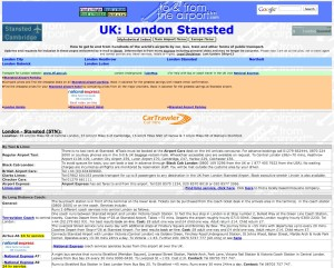 An- und Abreiseinformationen für London Stansted