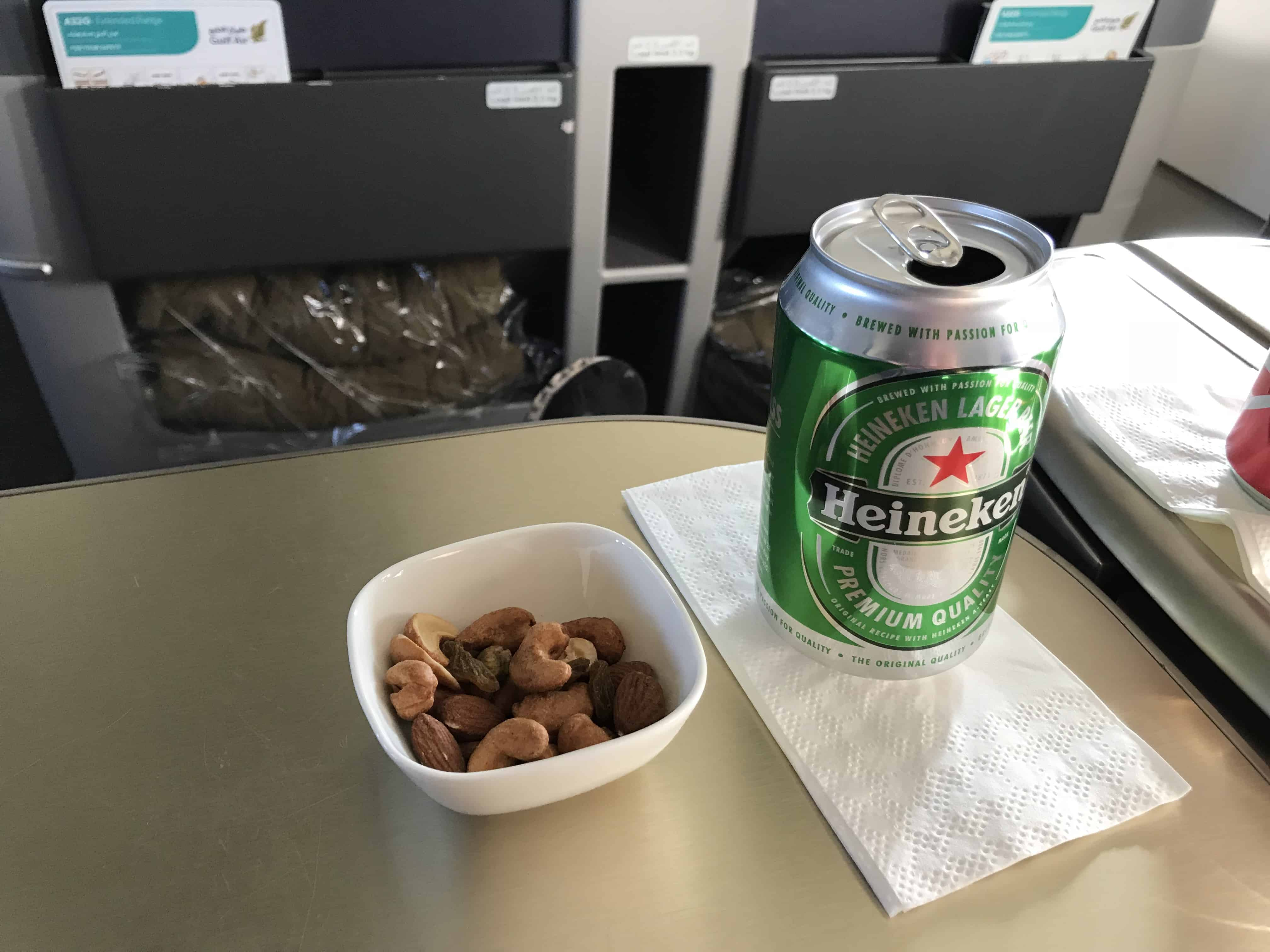 Gulf Air Bewertung - Verpflegung