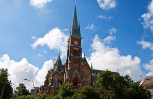 Oscar Fredriks Kirche - Göteborg, Schweden