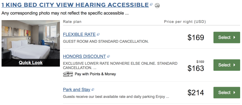 hilton doubletree new York Times Square west prices feb 18