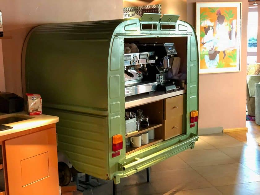 25hours Hotel Paris Breakfast Coffee