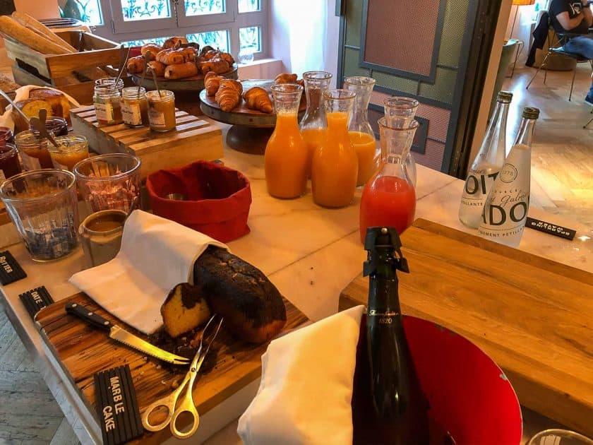 25hours Hotel Paris Breakfast Pastries