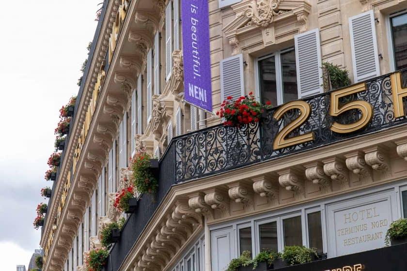 25hours Hotel Paris Front