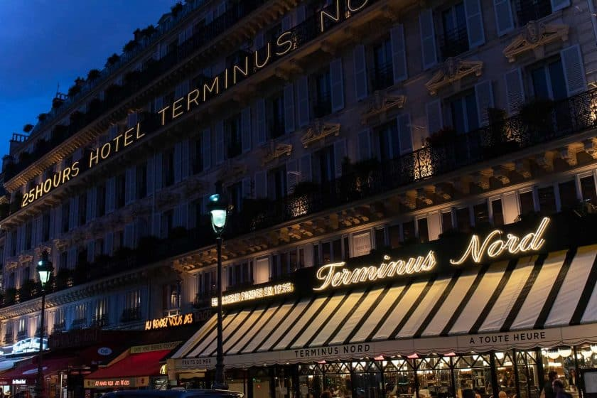 25hours Hotel Paris Front Night 2