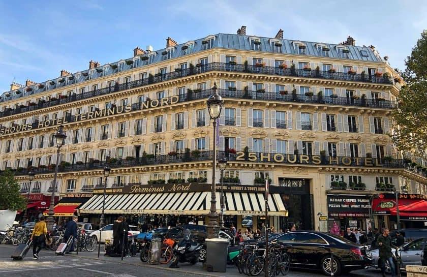 25hours Hotel Paris Front Sunshine