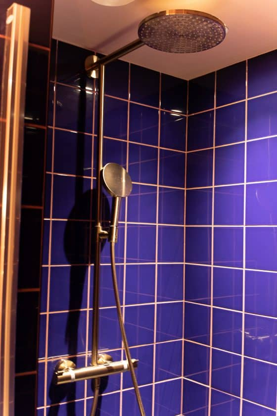 25hours Hotel Paris Room Bath Shower