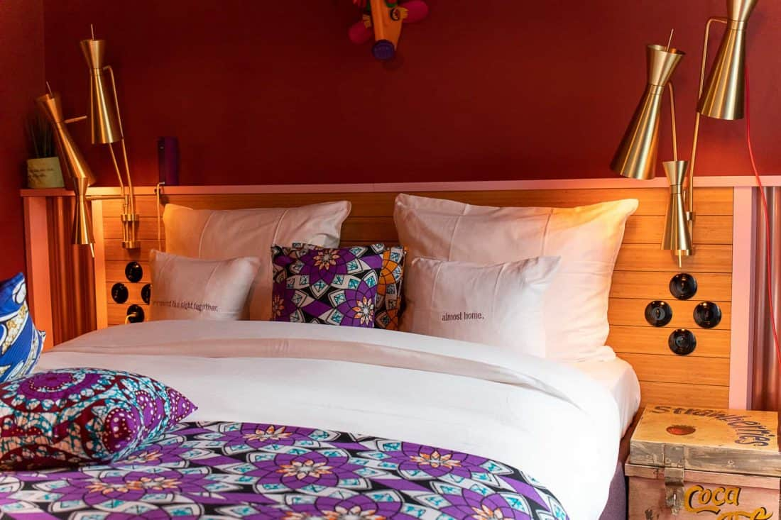25hours Hotel Paris Room Bed