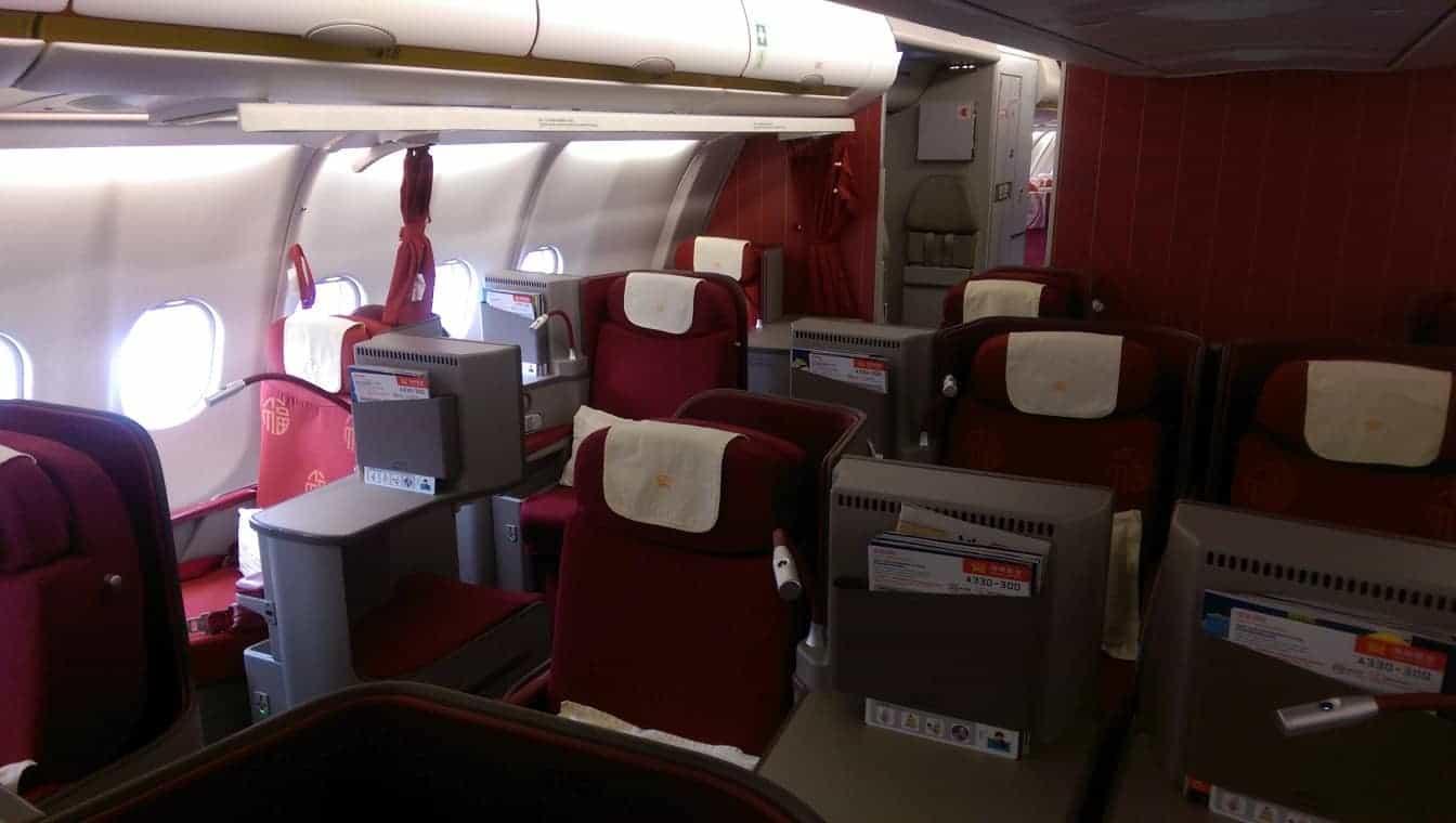 Hainan Business Class A330