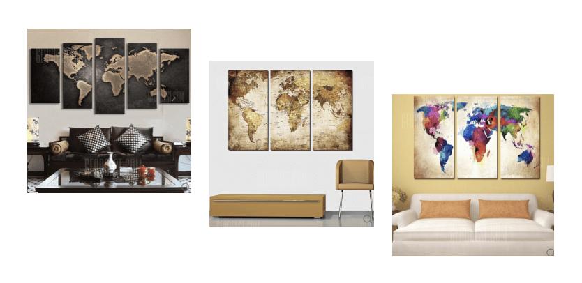 gearbest Weltkarten