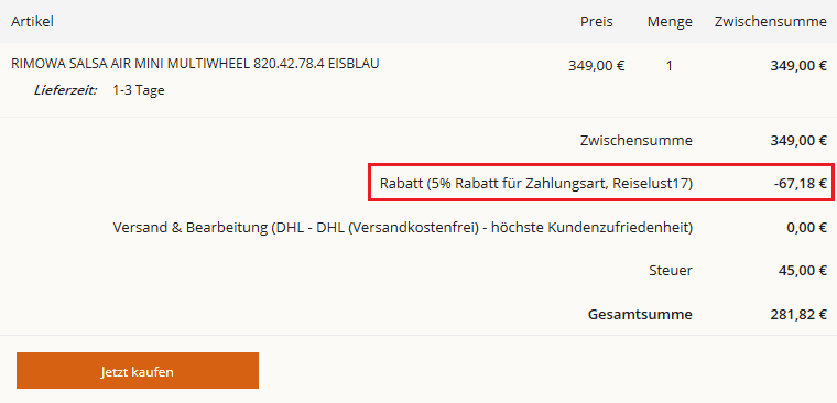 5% Rabatt Kofferworld.de