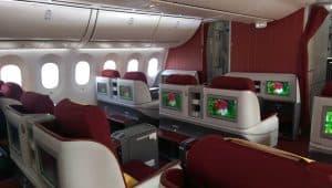 Hainan Boeing 787 Business Class