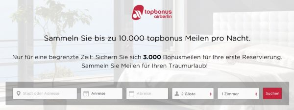 Rocketmiles Topbonus Aktion