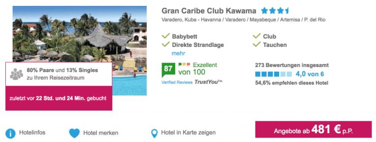 5vorFlug Grab Caribe Kawama