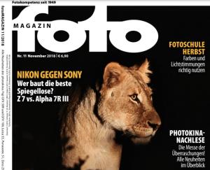 fotomagazin oct18 cover