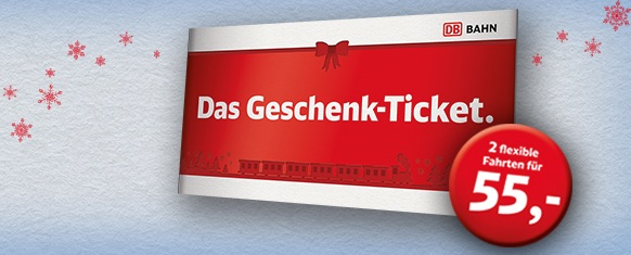 Deutsche Bahn Geschenkticket