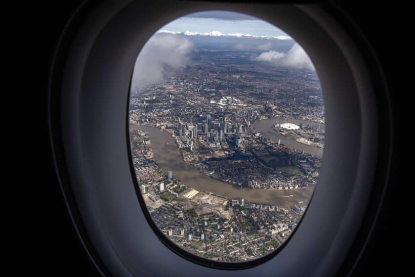 A350 Window View London