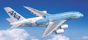 ANA A380 Flying Honu