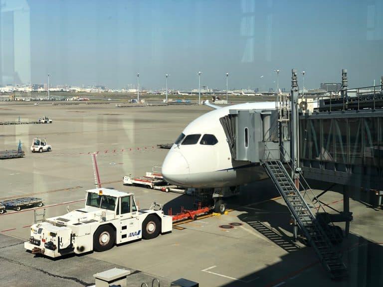 ANA Economy Bewertung Flugzeug