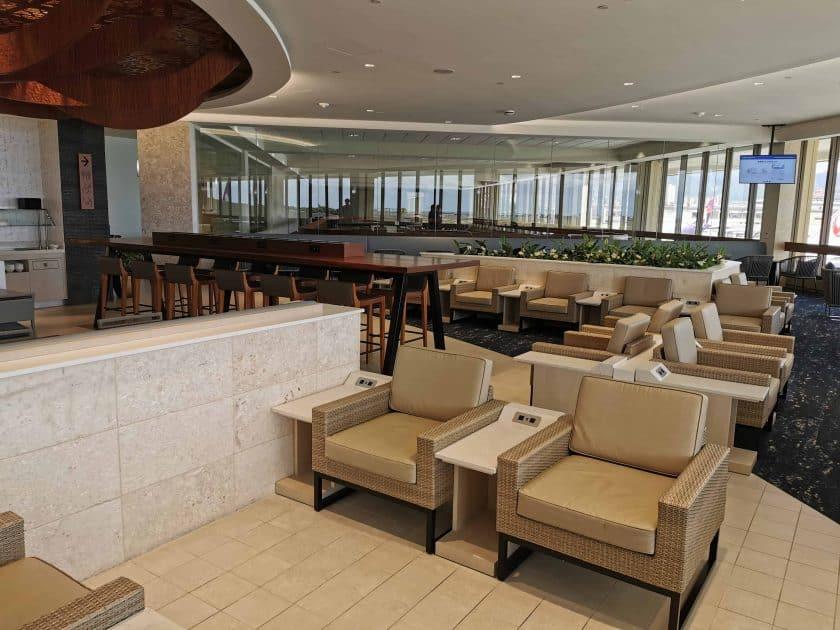 ANA Lounge HNL Mehr Sitze