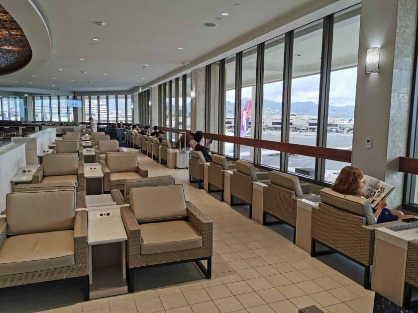 ANA Lounge HNL Sitzbereich 3
