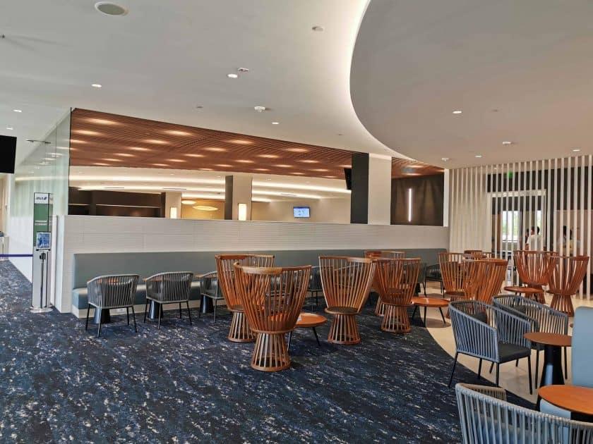 ANA Lounge HNL Sitzbereich