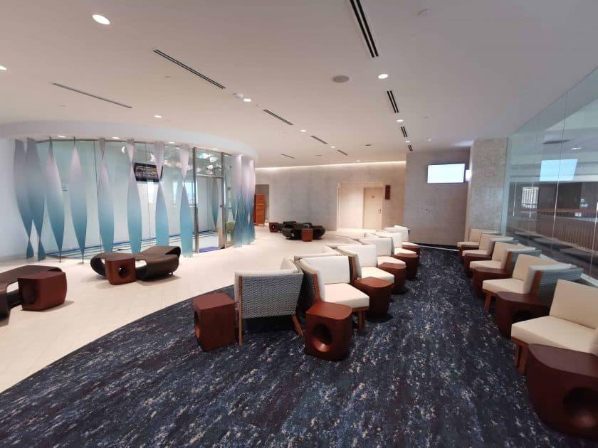 ANA Lounge HNL Sitzbereich hinten