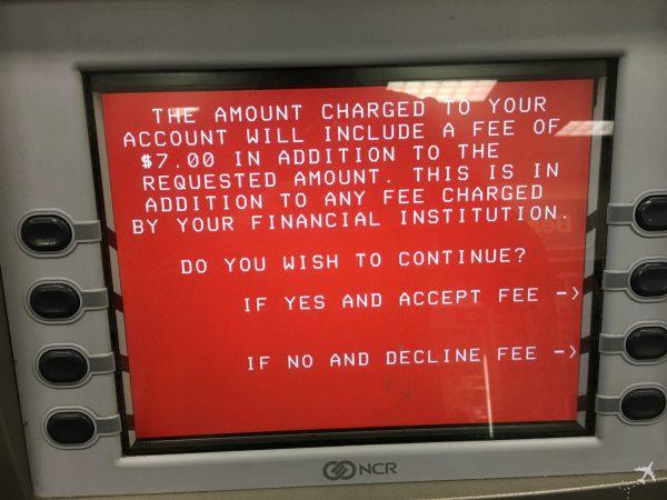 ATM Fremdgebühr
