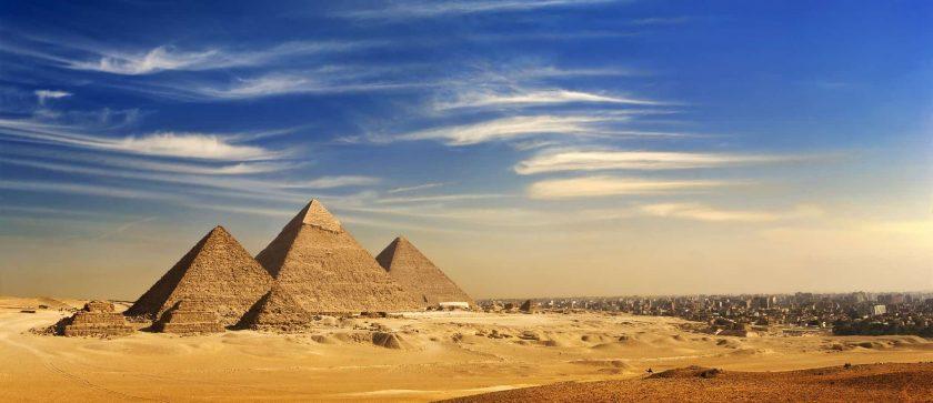 Aegypten Giza Pyramiden