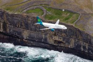 Aer Lingus A320 irische Kueste