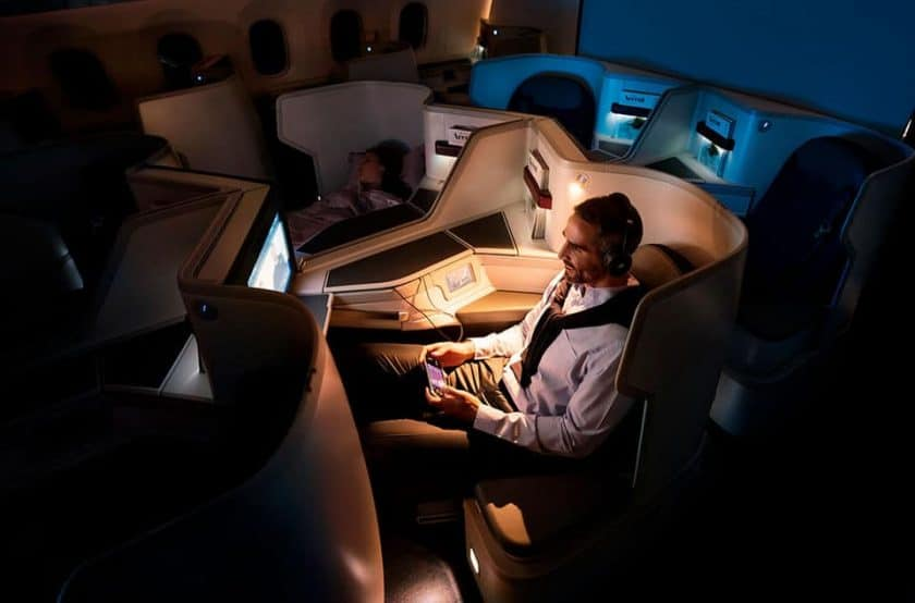 Aeromexico Business Class 787-9