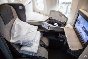 Air Canada Boeing 787-8 Business Class Sitz